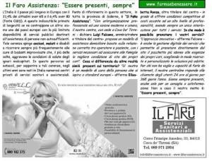 """Il Periodico """"Farma&Benessere"""" parla di noi..."""
