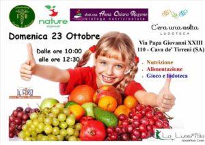 manifestazione frutta nelle scuole